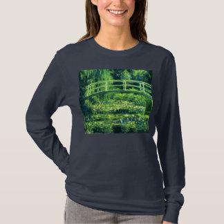 T-shirt Claude Monet : Pont au-dessus d'un étang des