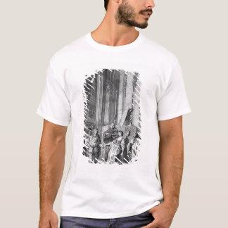 T-shirt Claudio accusant le héros de l'infidélité