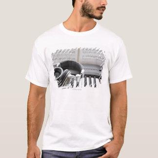 T-shirt Clavier de piano électrique