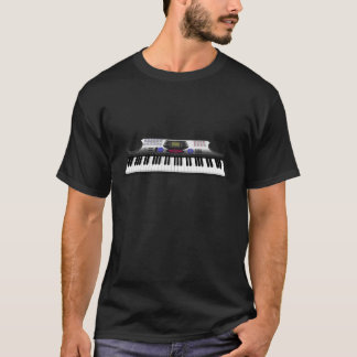 T-shirt Clavier moderne Synth : modèle 3D :