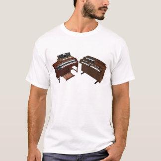 T-shirt Claviers vintages : modèle 3D :