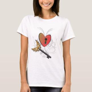 T-shirt Clé à mon coeur