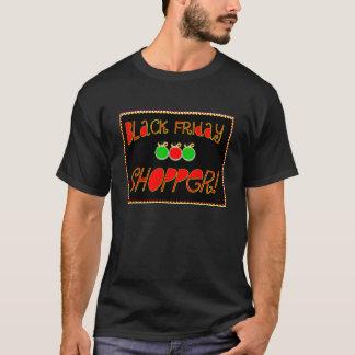 T-shirt client noir de vendredi
