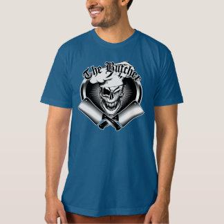 T-shirt Cligner de l'oeil le crâne de boucher