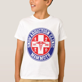 T-shirt Clinique gigantesque de dépendance de neige de Mtn