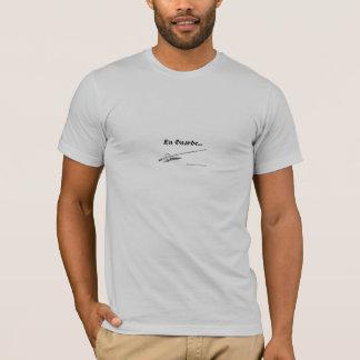 T-shirt clôture de l'aluminium