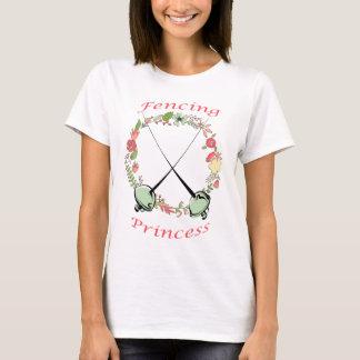 T-shirt Clôture de princesse Floral Foils