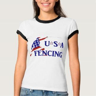 T-shirt Clôture des Etats-Unis