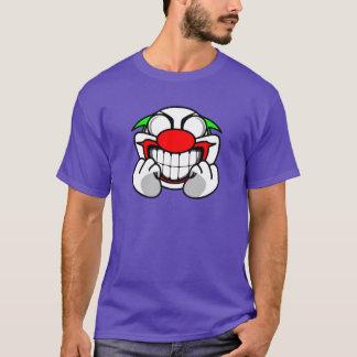 T-shirt Clown de sourire (pourpre)