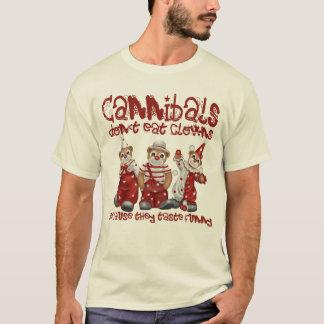 T-shirt Clowns et cannibales