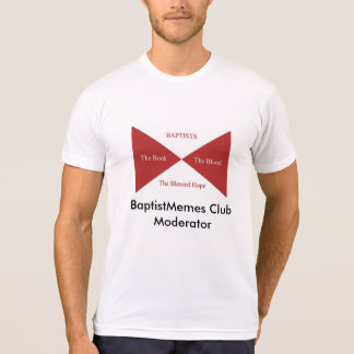 T-shirt Club baptiste de Memes : Modérateur