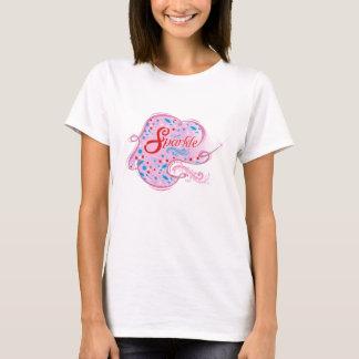 T-shirt Club chrétien de filles d'étincelle
