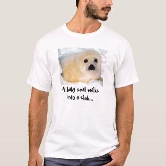 T-shirt Club de bébé phoque