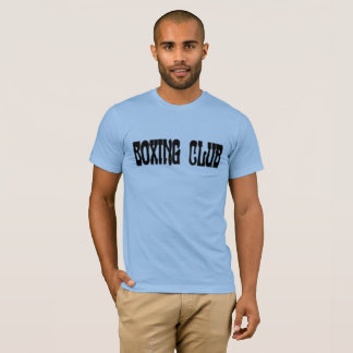 T-shirt Club de boxe