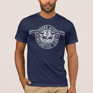 T-shirt Club de cm Moto (pochoir blanc vintage)