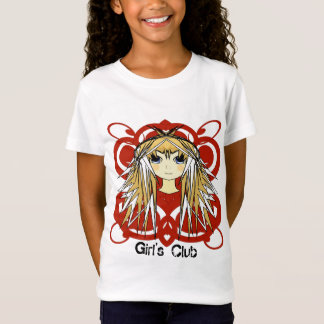 T-Shirt Club de filles d'Anime