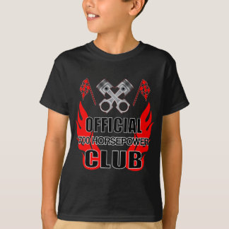 T-shirt Club de HP du fonctionnaire 700