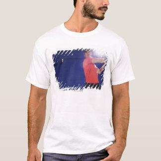 T-shirt Club de oscillation de joueur de golf