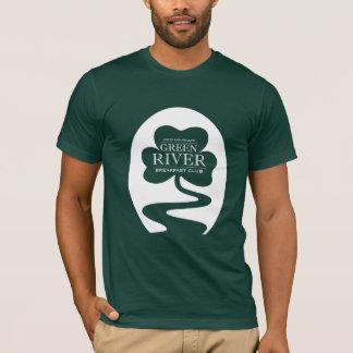 T-shirt Club de petit déjeuner de la rivière Green -