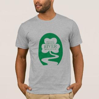 T-shirt Club de petit déjeuner de la rivière Green