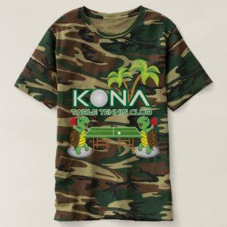 T-shirt Club de ping-pong de Kona
