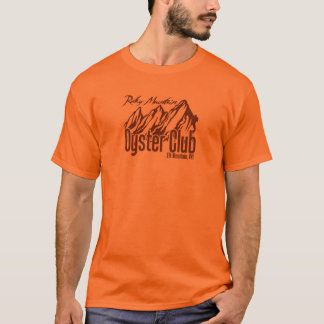 T-shirt Club d'huître de montagne rocheuse