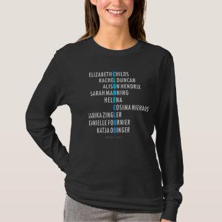 T-shirt Club orphelin de clone du noir | - anagramme