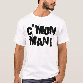 T-shirt C'mon homme ! À l'encre noire