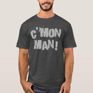 T-shirt C'mon homme ! Gris