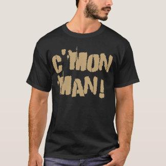 T-shirt C'Mon homme ! Vieux Gold2