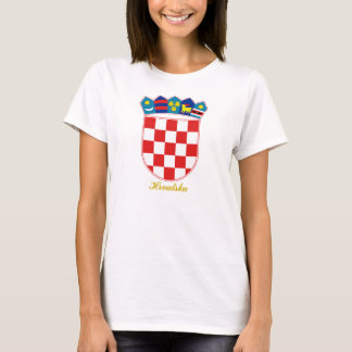 T-shirt COA de la Croatie