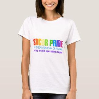 T-shirt Coalition de San Diego de fierté de raison