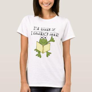 T-shirt Coassement de grenouille si je ne pourrais pas