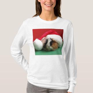 T-shirt Cobaye frais de Noël des femmes