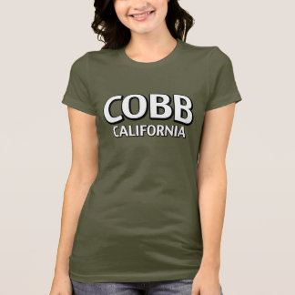 T-shirt Cobb la Californie
