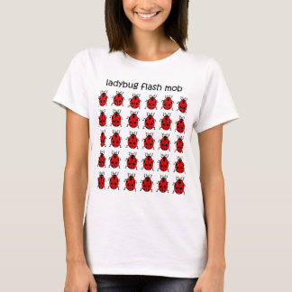 T-shirt coccinelle instantanée drôle de foule