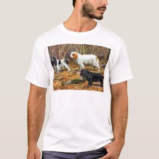 T-shirt Cocker, Clumber et épagneuls de champ