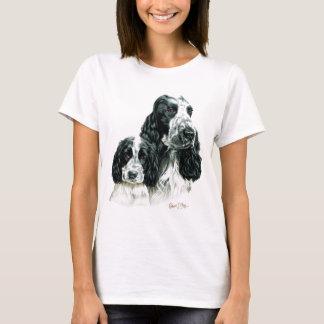 T-shirt Cocker et chiot
