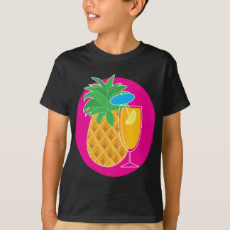 T-shirt Cocktail d'ananas