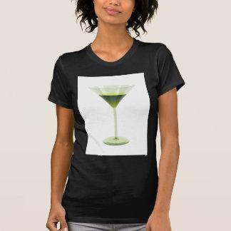T-shirt Cocktail vert