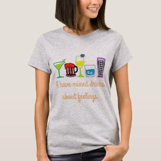 T-shirt Cocktails au sujet des sentiments