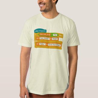 T-shirt Codage = avenir lumineux