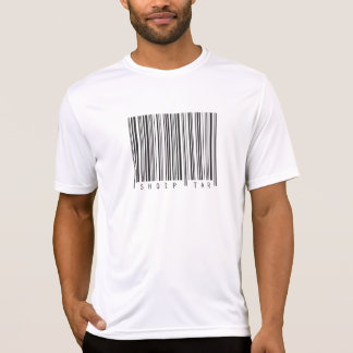 T-shirt Code barres albanais