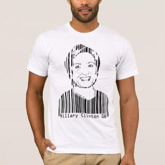 T-shirt Code barres de Hillary Clinton