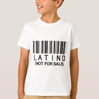T-shirt Code barres latin