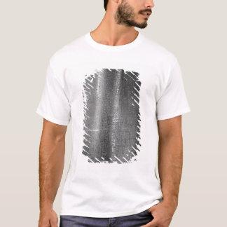 T-shirt Code de Hammurabi, détail de colonne