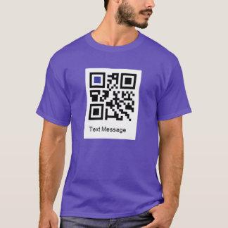 T-shirt Code de QR pour, JE SUIS GAI