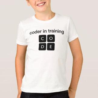 T-shirt Codeur dans la formation