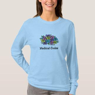 T-shirt Codeur médical Blooms1