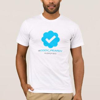T-shirt @Cody_Pearcy - vérifié